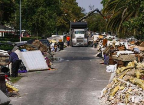 Storm Debris cleanup